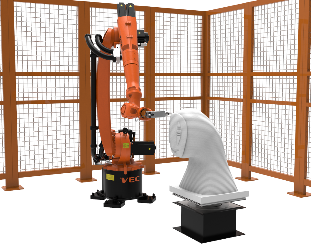 Robot KUKA milling application