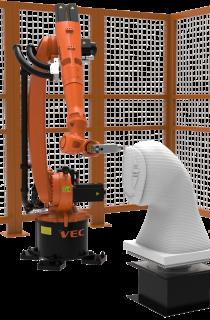 Robot KUKA milling application