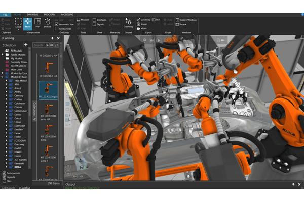 Mô phỏng nhà máy 3D